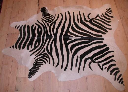 Oriental Rug Bazaar Zebra Hide