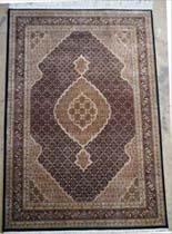 Oriental Rug Bazaar Tabriz (Fish) - Wool & Silk