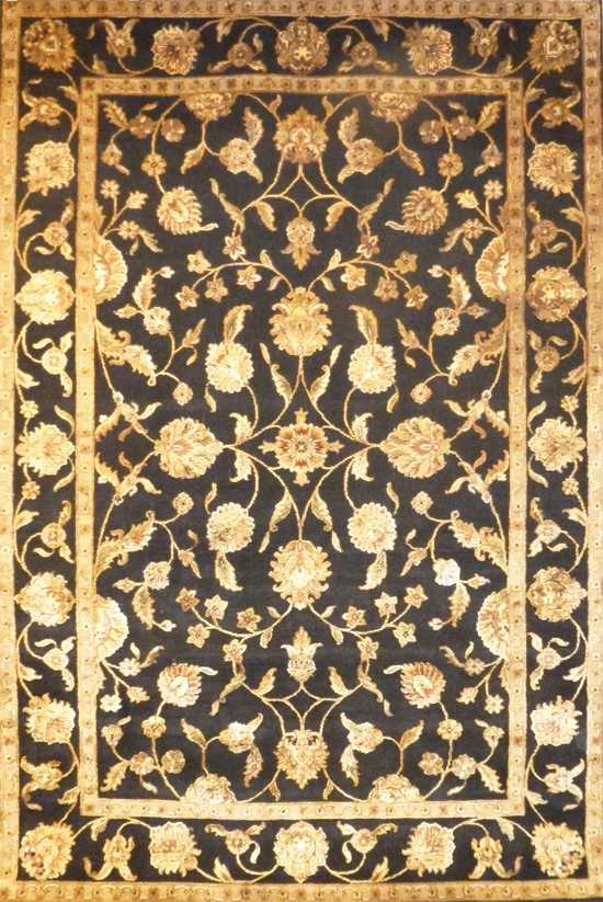 Kashan Wool Silk