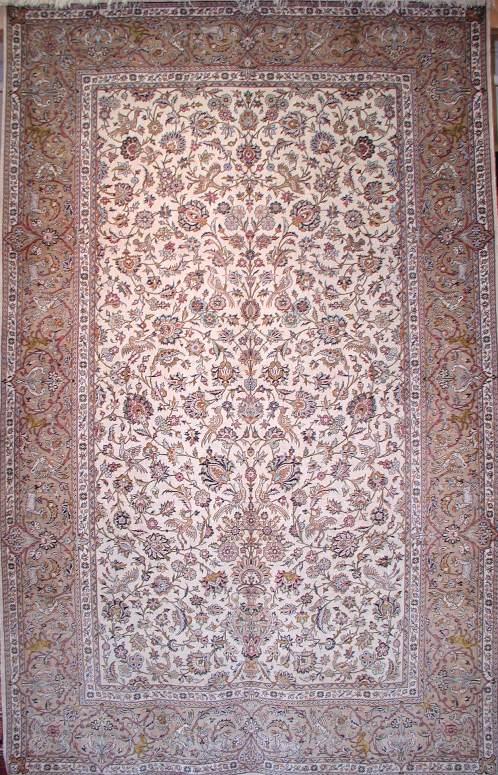 Tabriz Wool Silk