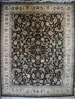 Oriental Rug Bazaar Kashan - Wool & Silk